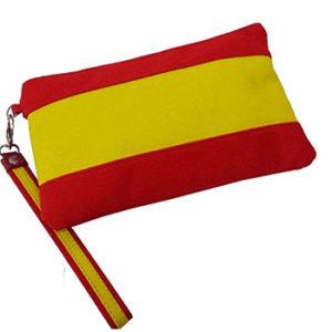 bolso-de-mano-con-la-bandera-de-España