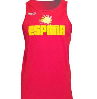 camiseta técnica deporte bandera española