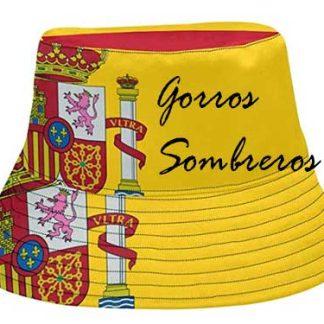 Sombreros y gorros bandera España