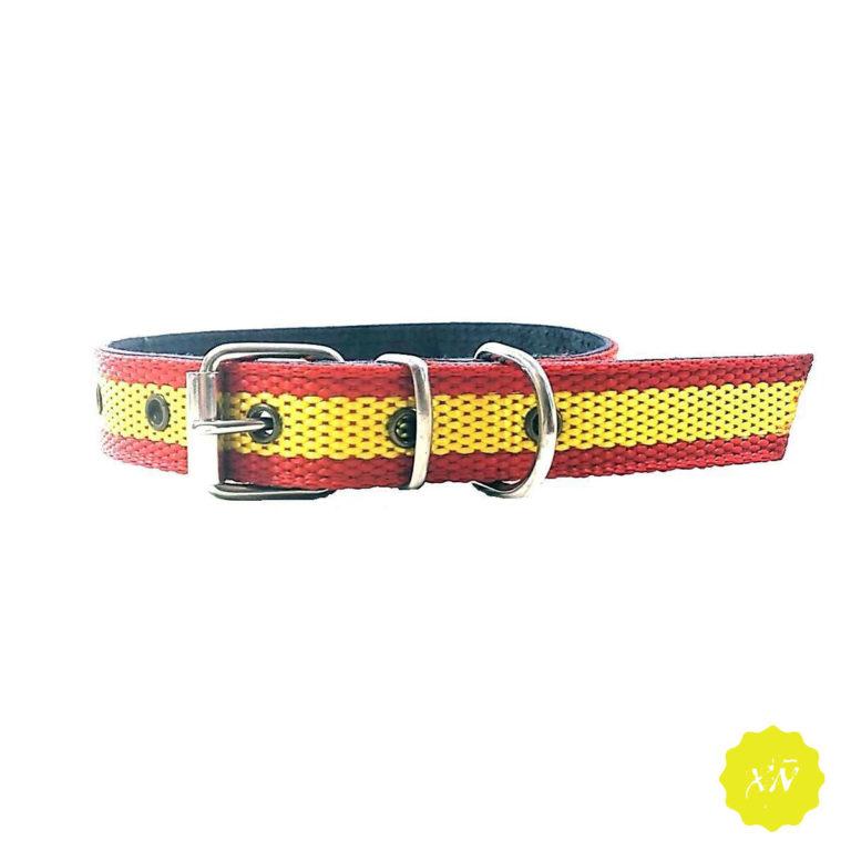 correo-de-perro-bandera-española