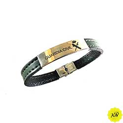 pulsera negra guardia civil