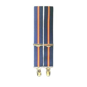 tirantes con la bandera de España colo azul marino