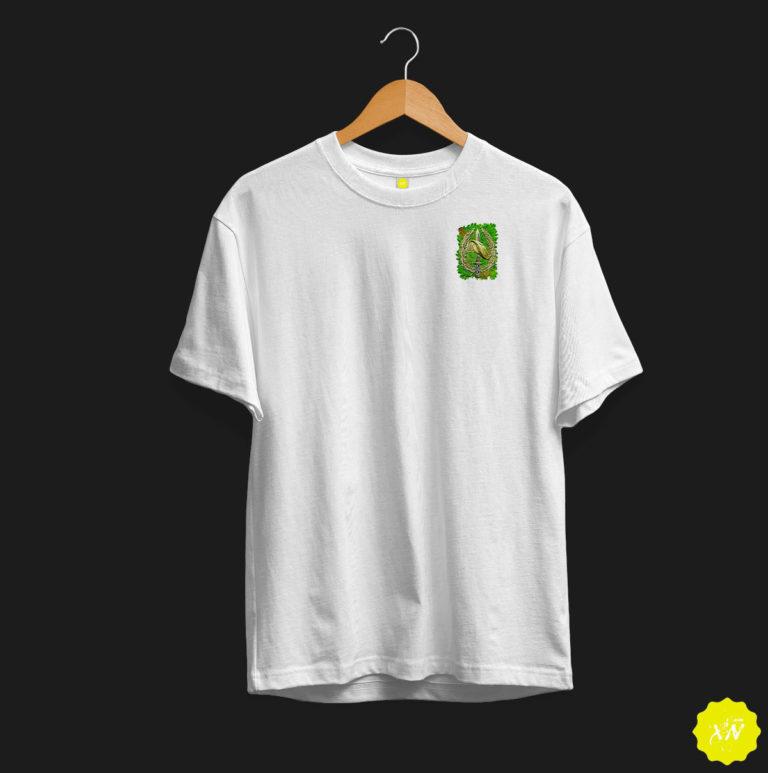 Camiseta con escudo Boina Verde