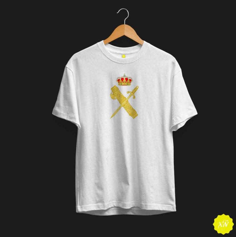 Camiseta logo escudo guardia