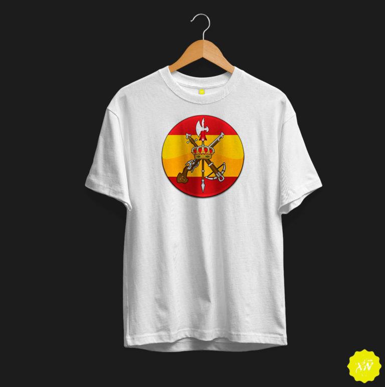 Camiseta para regalo de La Legión española