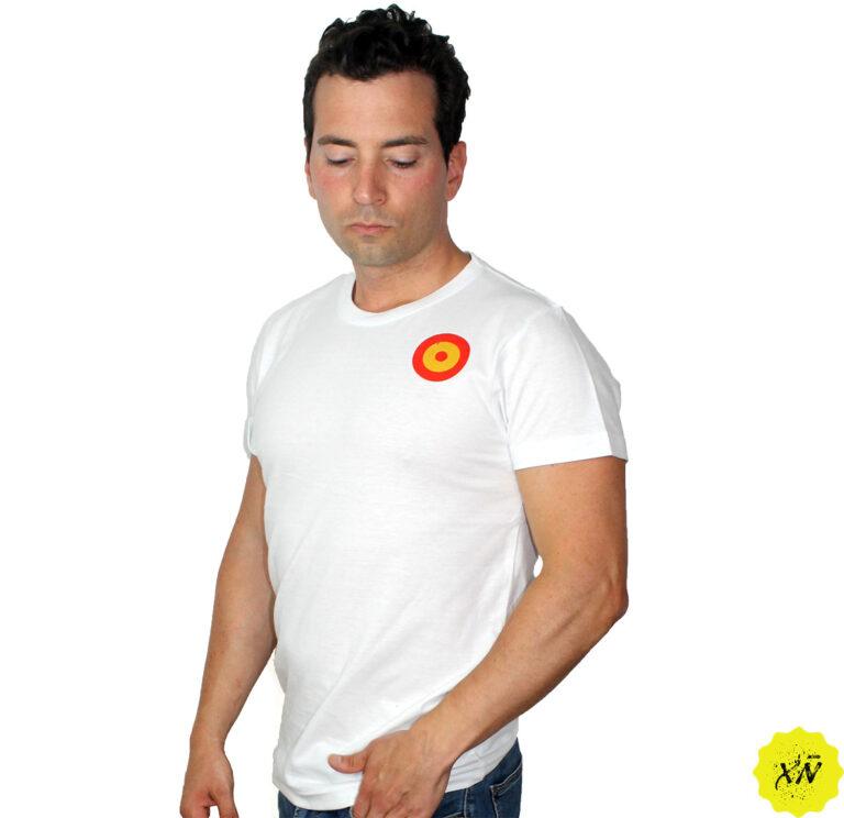 camiseta con dibujo aviación española
