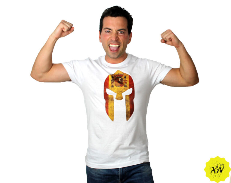 camiseta-espartanos-bandera-de-España