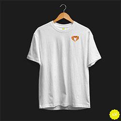 Camiseta con lazo de España