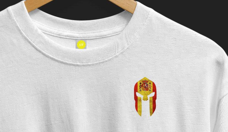 detalle-camiseta-espartanos-España