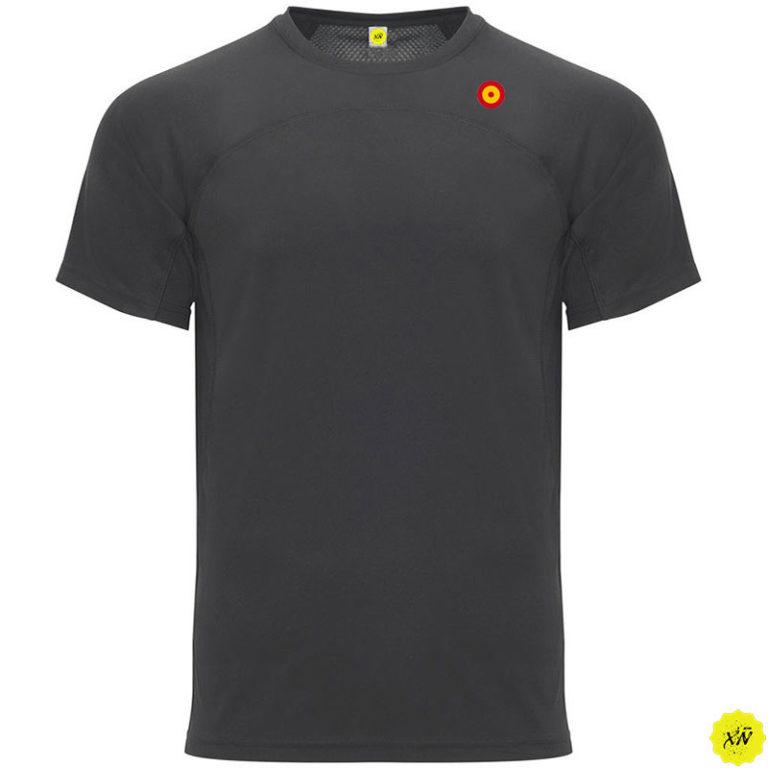 Camiseta técnica diana de España color plomo oscuro