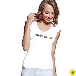 Camiseta mujer SÁNCHEZ VETE YA