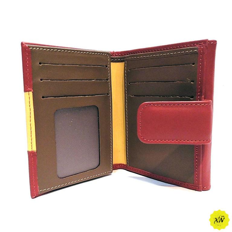 interior billetera señora piel de toro