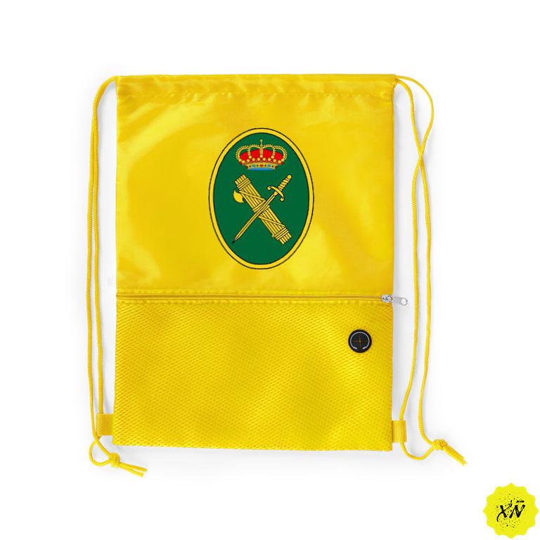 mochila para verano con escudo de la Guardia Civil