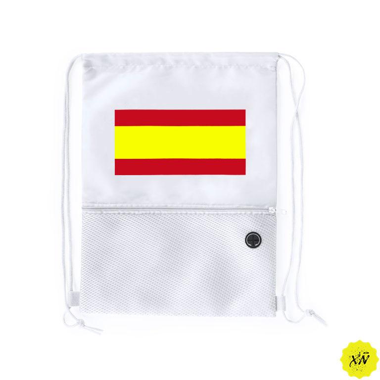 mochila verano bandera España