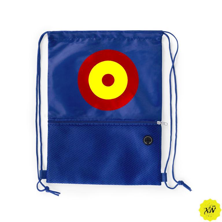mochila para playa con diana de España
