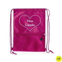 mochila verano color rosa viva España