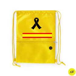 mochila verano crespón y bandera de España