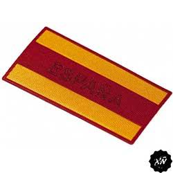 parche bandera de España