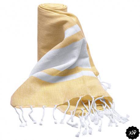 toalla pareo color amarillo