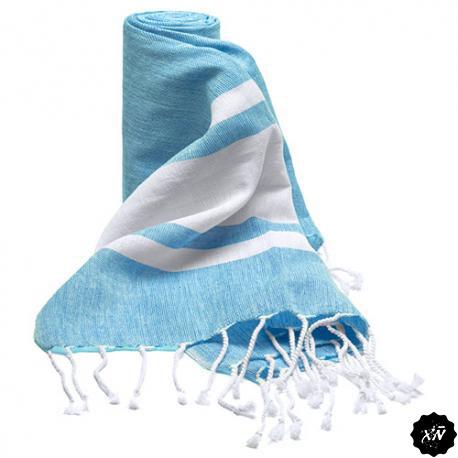 toalla pareo color azul