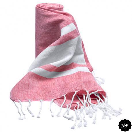 toalla pareo color rosa