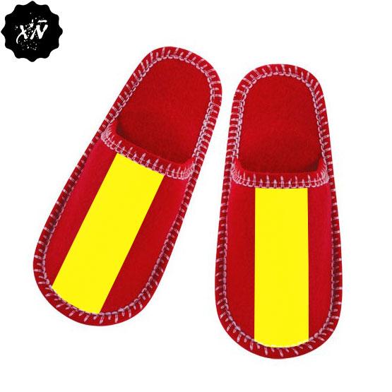 zapatillas de andar por casa con bandera de España España