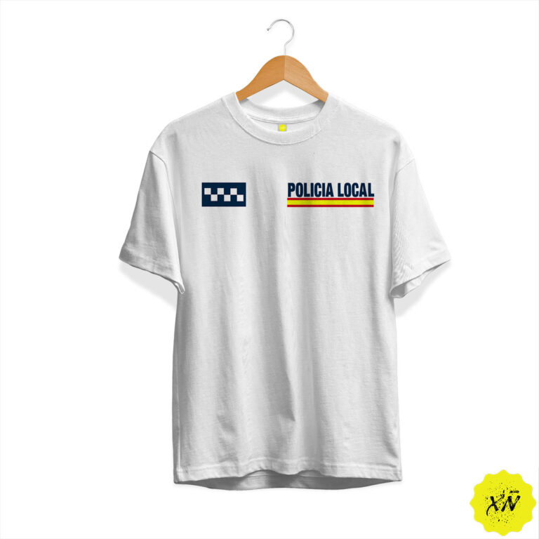 Camiseta Policía Local España