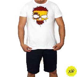 camiseta calavera España