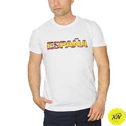 camiseta letras España