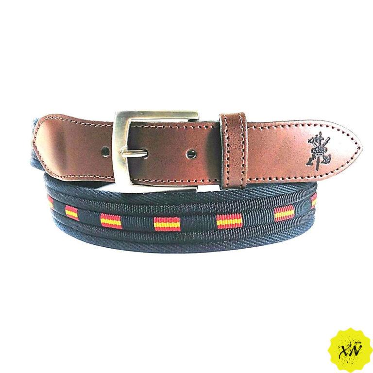 cinturón de España escudo Legión española cuero