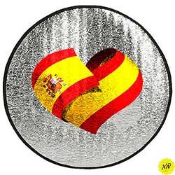 cubre volante bandera de España
