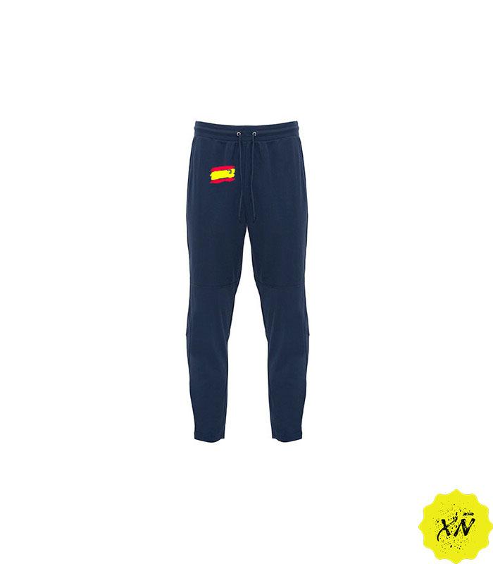 pantalón largo de deporte con la bandera de España