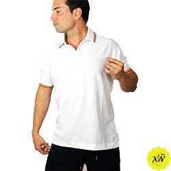 polos de España color blanco