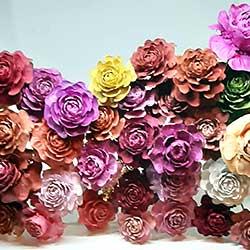 venta de flores hechas a mano