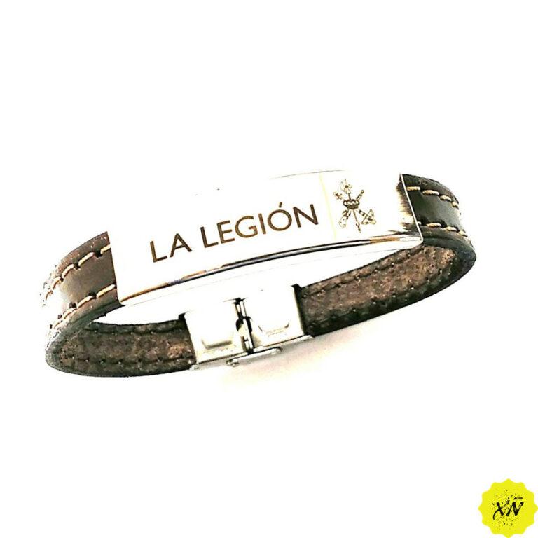 pulsera-piel-de-la-Legión-española