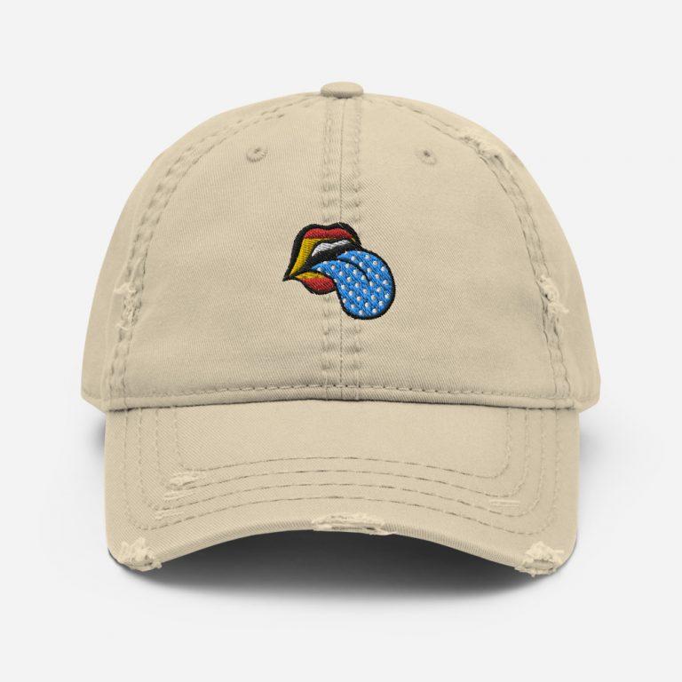 Gorra lengua colores