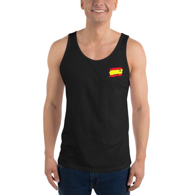 Camiseta sin mangas bandera España