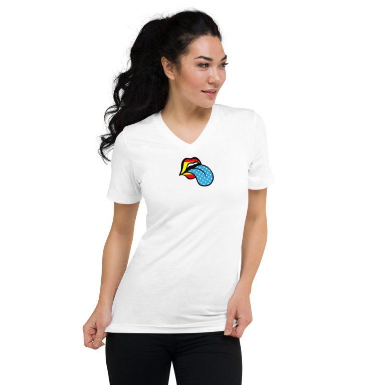 Camiseta mujer labio