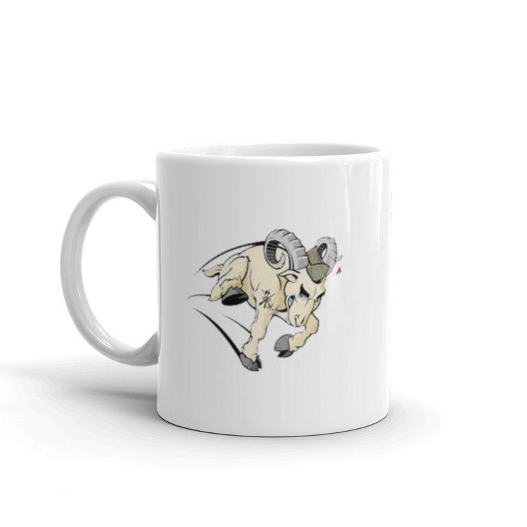 Taza con cabra de La Legión