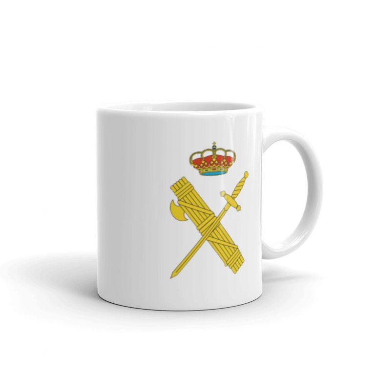 Taza con escudo Guardia Civil