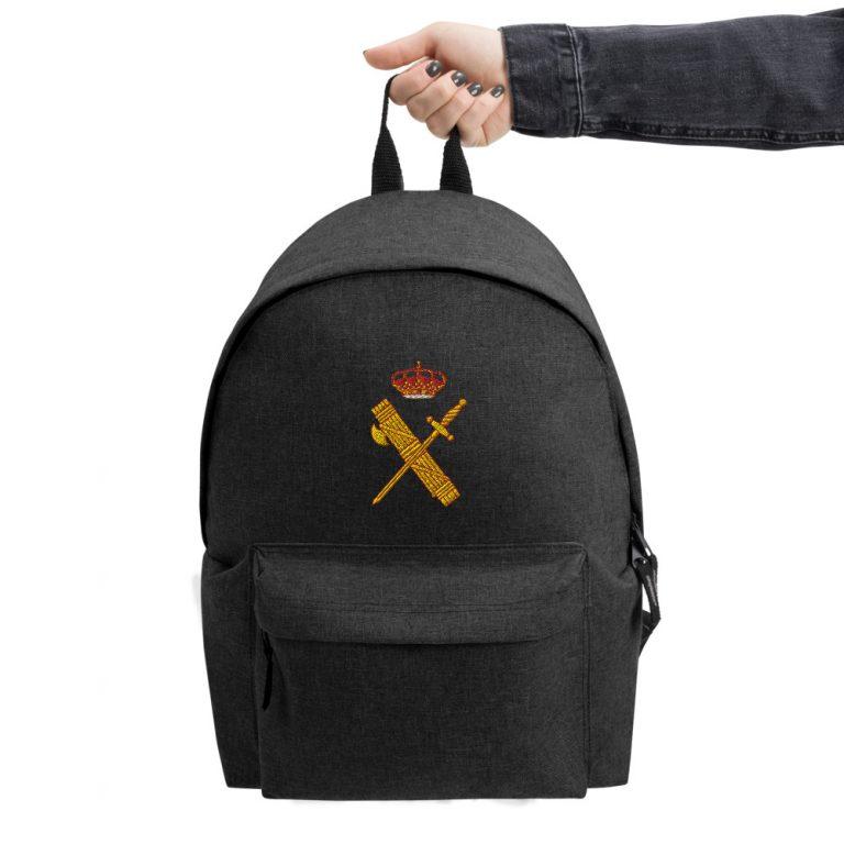 Mochila escudo Guardia Civil bordada
