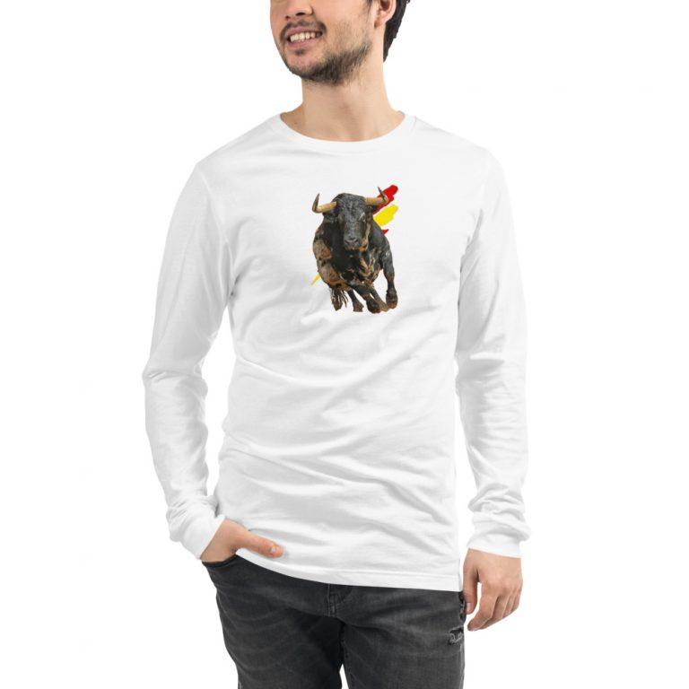 Camiseta manga larga con toro de España